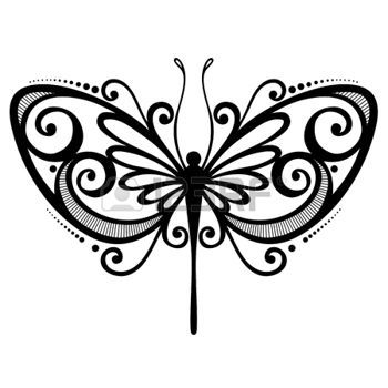 papillon libellule dessin  vecteur belle libellule