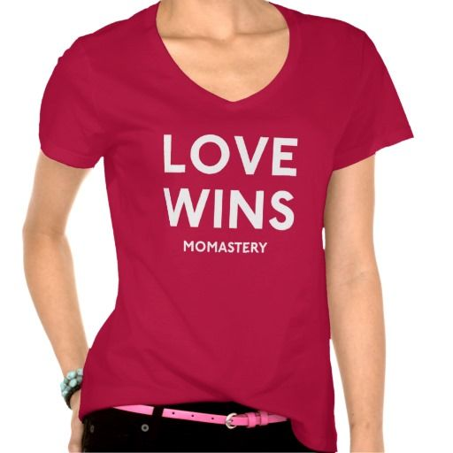 Love Wins White Tshirts