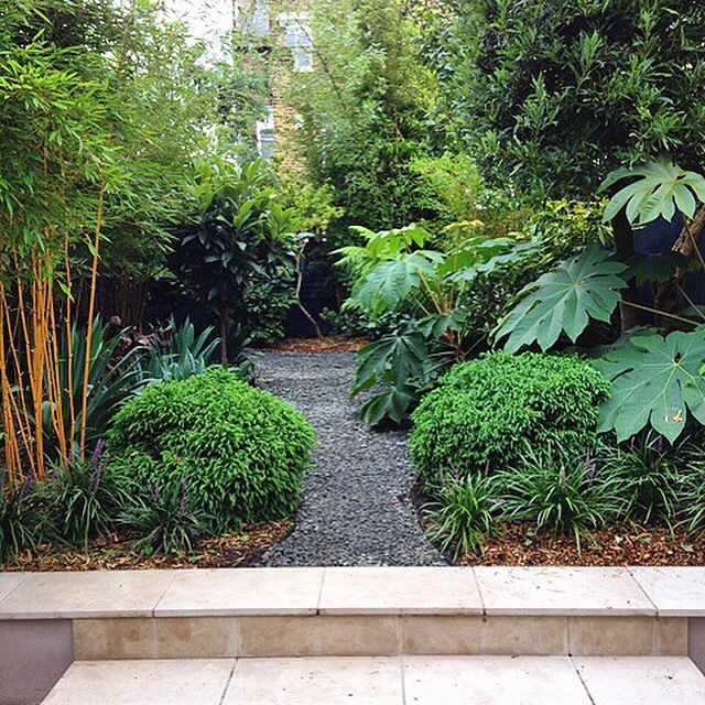 A garden planted by Architectural Plants, maturing nicely