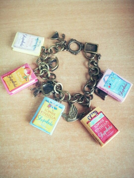 Shopaholic Charm Bracelet