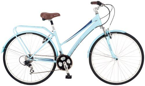 Schwinn Women's Community 700c Hybrid Bicycle, Light Blue, 16-Inch Frame Pacific Cycle, Inc.,http://www.amazon.com/dp/B00AYCY0FA/ref=cm_sw_r_pi_dp_TAaOsb1XXPGZ537R