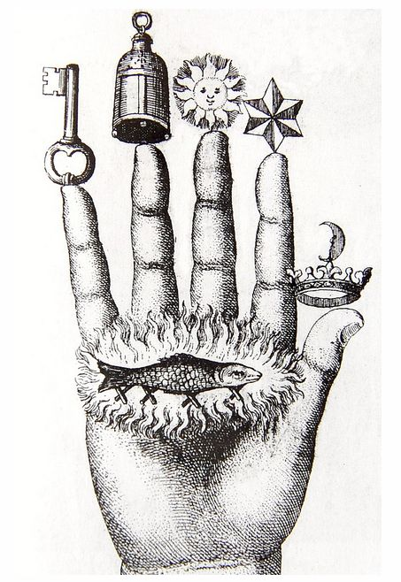c0untessbathory:    The hand of the philosophers