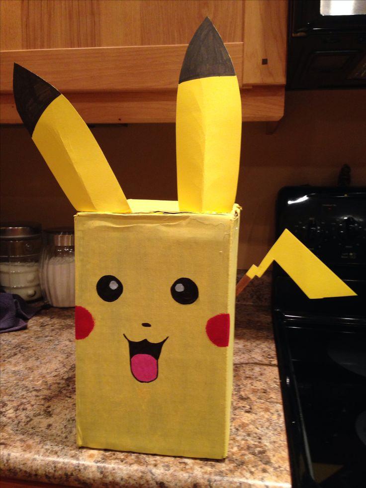 Pikachu pokemon valentine box