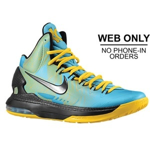 Nike KD V - Mens - Dark Turquoise/Blackened Blue/Black/Varsity Maize