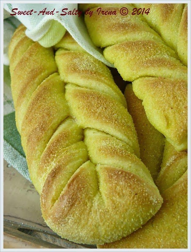 sweet-and-salty: Kukuruzne pletenice / Corn Braids