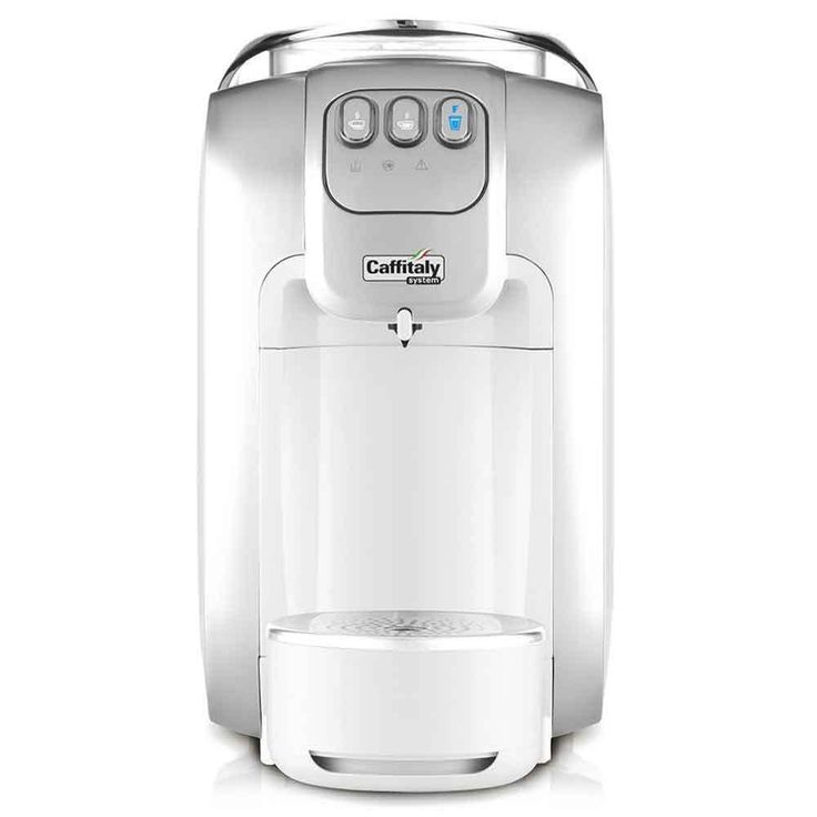 Caffitaly Capsule Coffee Maker Espresso Machine System Royal Queen S07 White