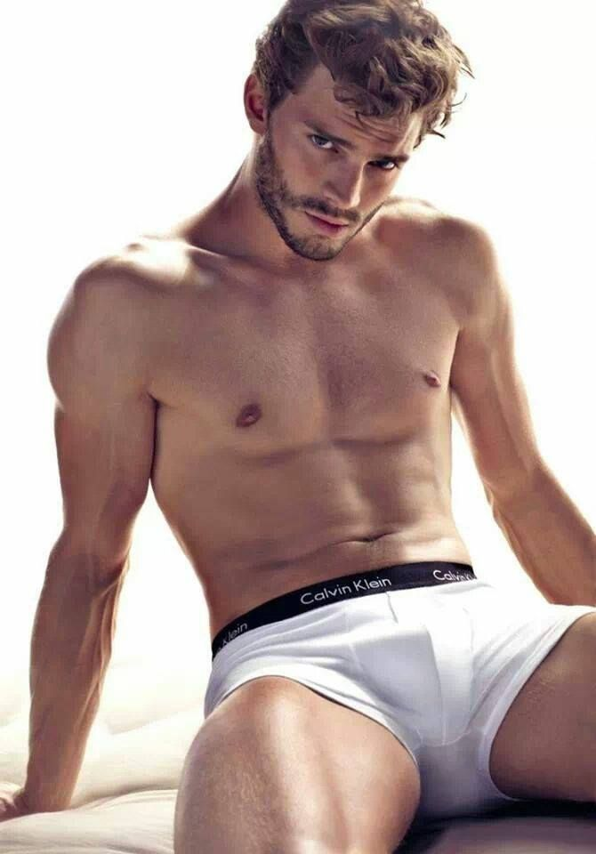 Jamie Dornan - I look at him and think 'serial killer' (The Fall w/Gillian Anderson). And no, that isn't a spoiler. Great actor, though!