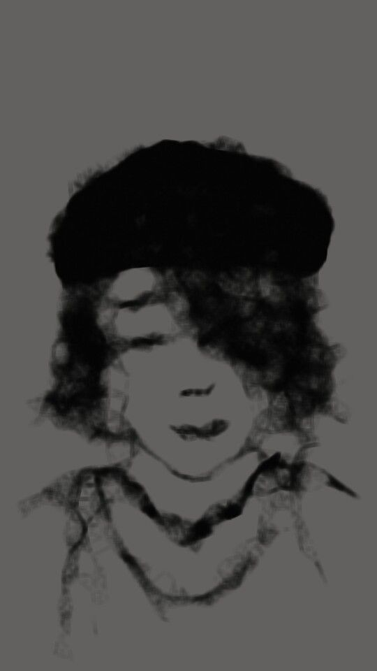 black beret #inkblots