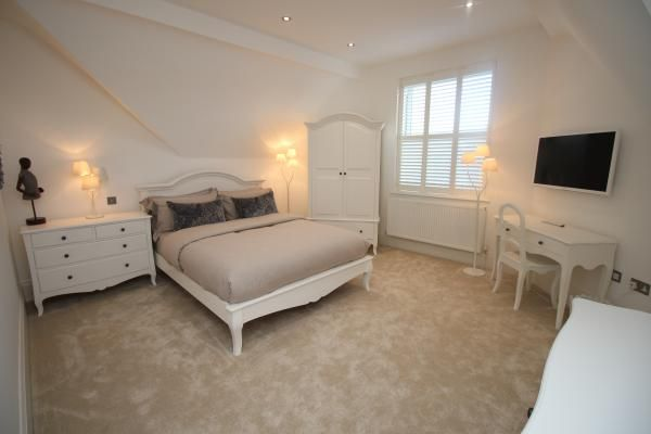 Gorgeous bedroom for your stay at Hoscote Park House, West Kirby. www.iknow-northwest.co.uk