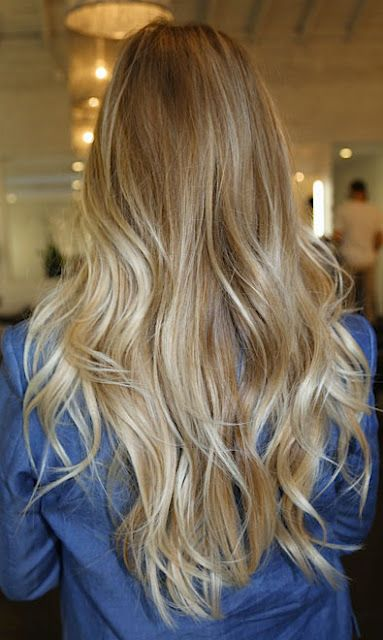blonde ombre.. i think i wanna do this for my wedding hair???