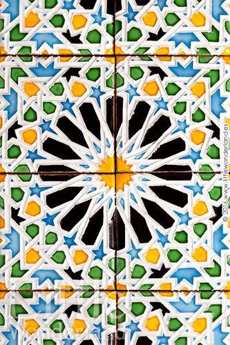 Galletas inspiradas en azulejos de estilo mudéjar | Cookies inspired by moorish…