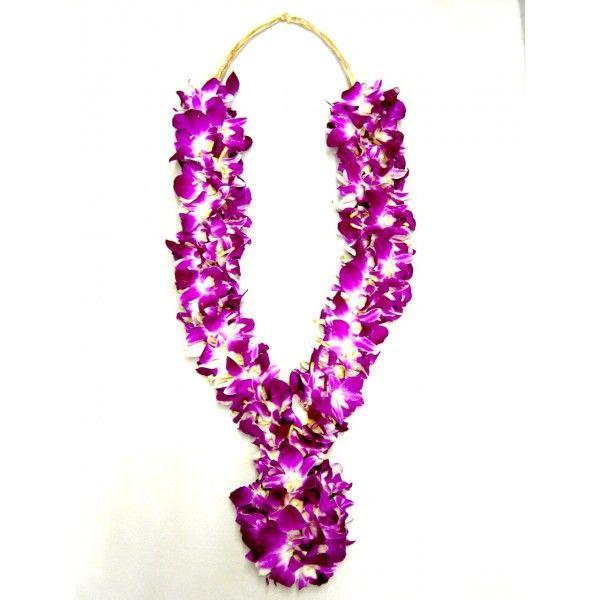 orchid-garland | engagement refs | Pinterest