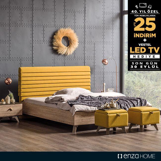 Enza Home'larda tüm mobilya ve halı alışverişlerinde NET %25 indirim fırsatı için SON GÜN 30 EYLÜL!  Ayrıca 8.490 TL indirimli alışverişlerde 999 TL değerinde Vestel 82 ekran LED TV, 10.900 TL indirimli alışverişlerde ise 1.499 TL değerinde Vestel 102 ekran Smart LED TV hediyeleri de sizleri bekliyor!