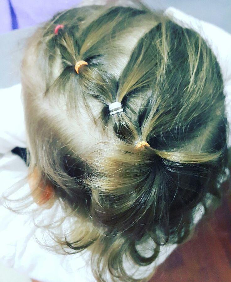 Kız çocuğu saç modeli