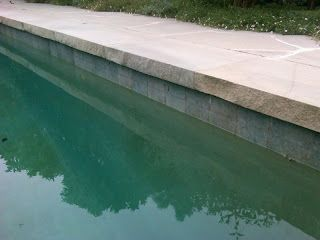 Paving: Limestone Pool Coping