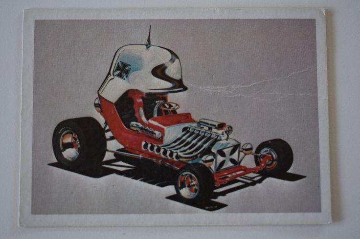 monogram model card  RED BARON 1970, Monogram Models, Monogram Model Cars | Collectibles, Non-Sport Trading Cards, Vintage Non-Sport Cards | eBay!