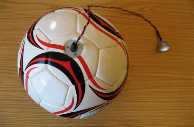 Students design soccer ball that generates electricity during play    Read more: http://www.digitaltrends.com/cool-tech/students-design-soccer-ball-that-generates-electricity-during-play/#ixzz1yHRUBsMd