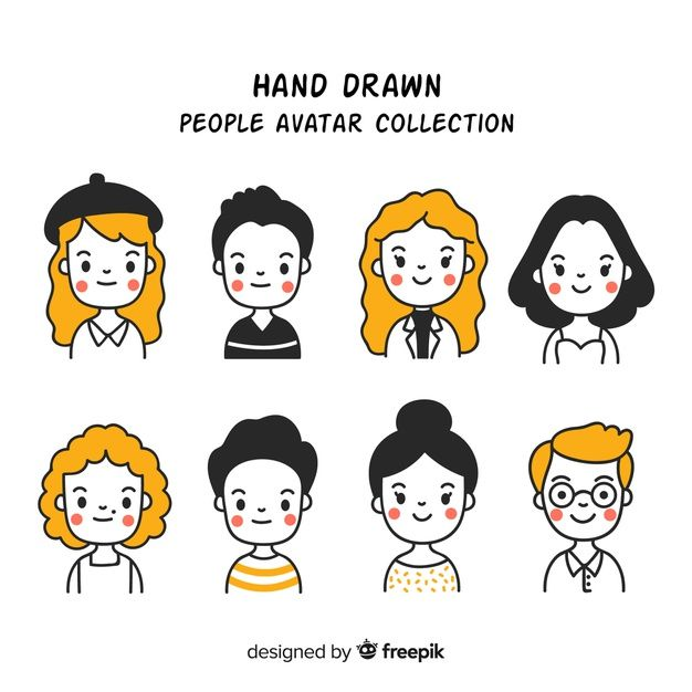 Download Cartoon People Avatar Collection For Free   -8484