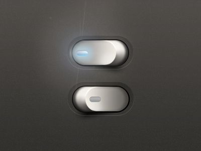 Switch Button by Javi Perez via Dribbble