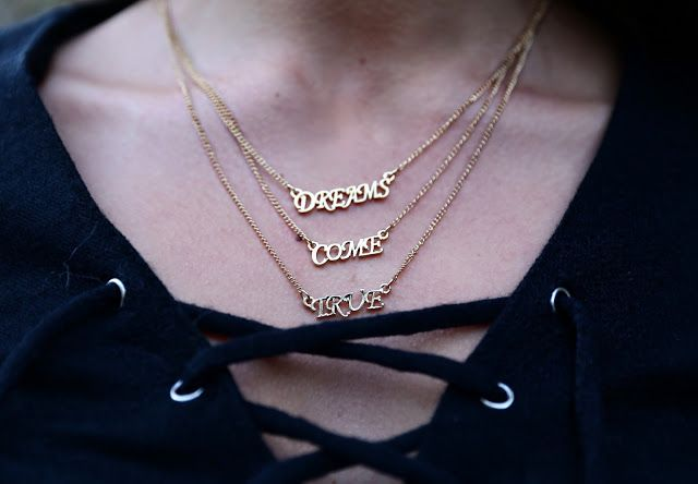 """""""Dreams Come True"""" - idee regalo by Zaful #necklace #accessori #jewels #ideeregalo #shoppingonline #ootd #look #style #fashionblogger #collana"""