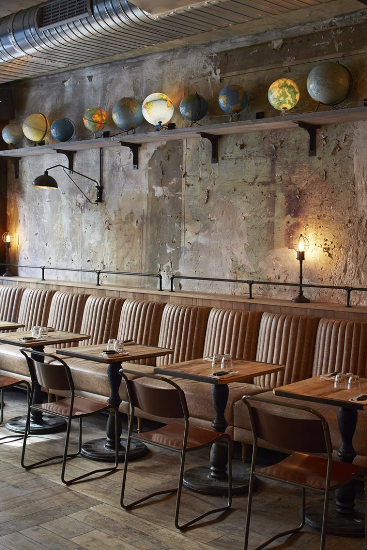 Peters Esszimmer In Münster Restaurant Interior Designer Badezimmer Lighting Pinterest