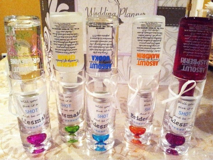 Trying to think of a fun way to ask your favorite girls to be in your bridal party? Want to use something they will be able to use afterward? Here's what I did! I was shopping one day at Mars…