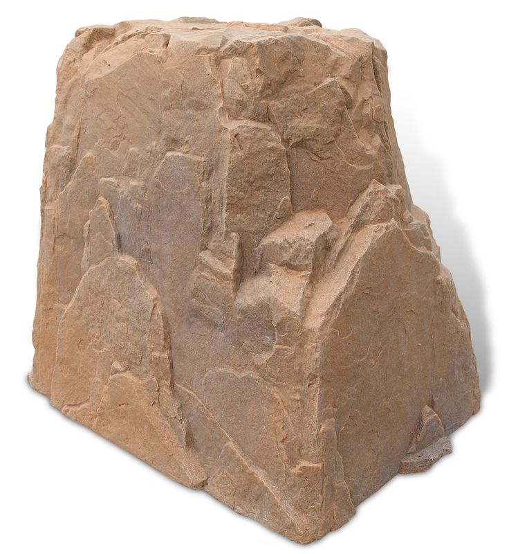 Fake Rock - Giant Size is a hollow plastic rock that conceals undesirable plumbing in your yard or garden.