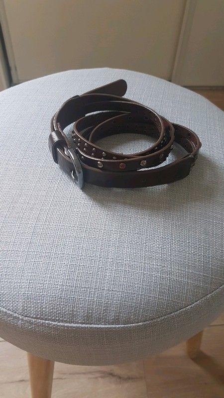 Ceinture marron cloutée etam   À acheter   Pinterest   Ceinture marron,  Etam et Ceinture 8145afb9ea6