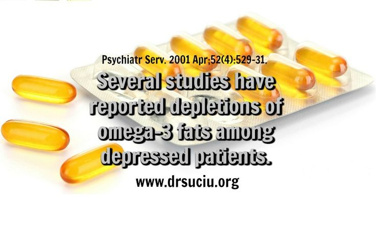 Picture Omega 3 and depression - drsuciu