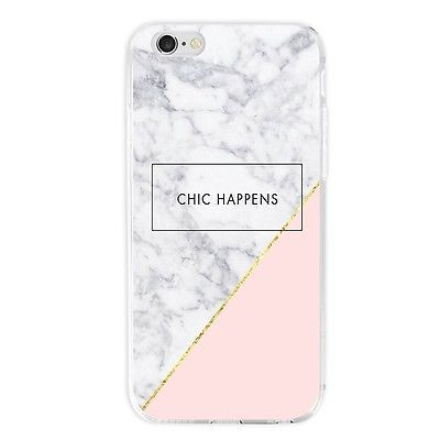 Mobile Phone Case TPU Protective Marble Case Cover Case Slim Pocket Shell Mix Color