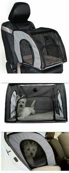 Need help with finding the right size? See our Dog Crate Size Breed Chart. Description The Travel Safety Carrier is the simple way to keep families and pets safe in a vehicle. Driver distraction is ke