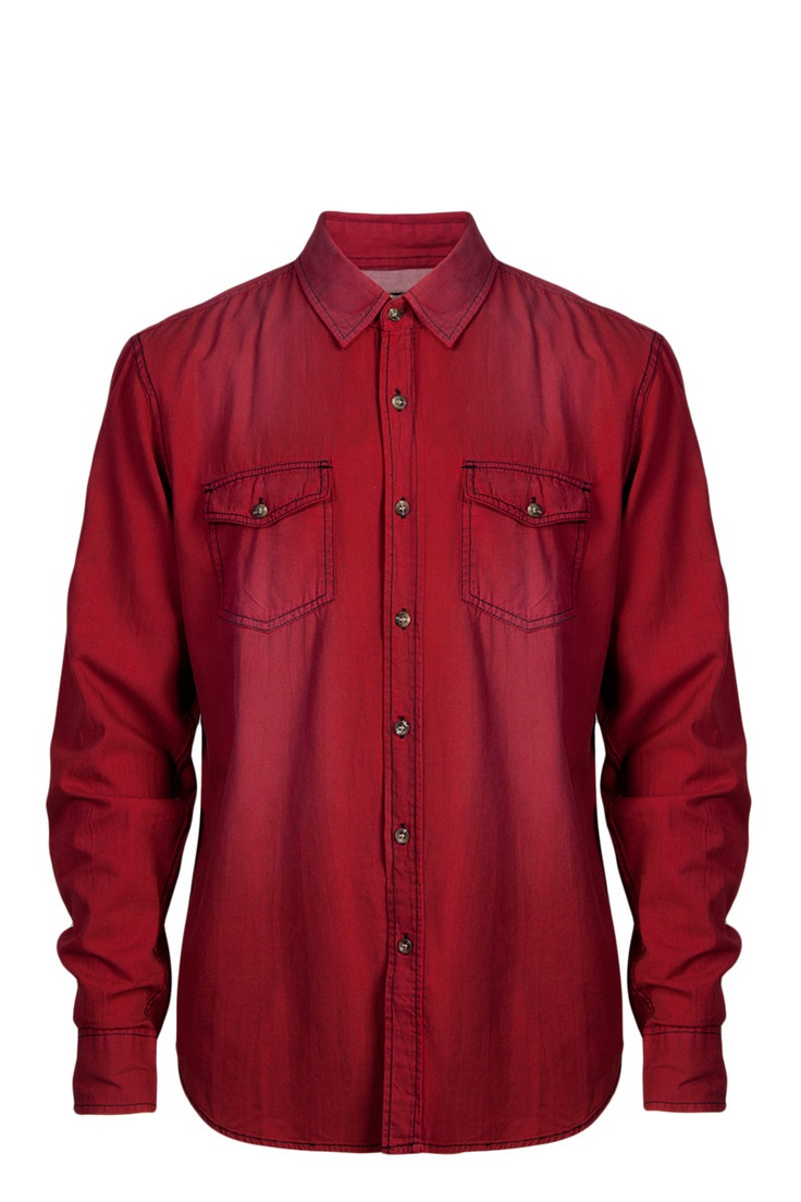 MR PRICE (men's) red denim shirt (R120) | Country *girl's ...