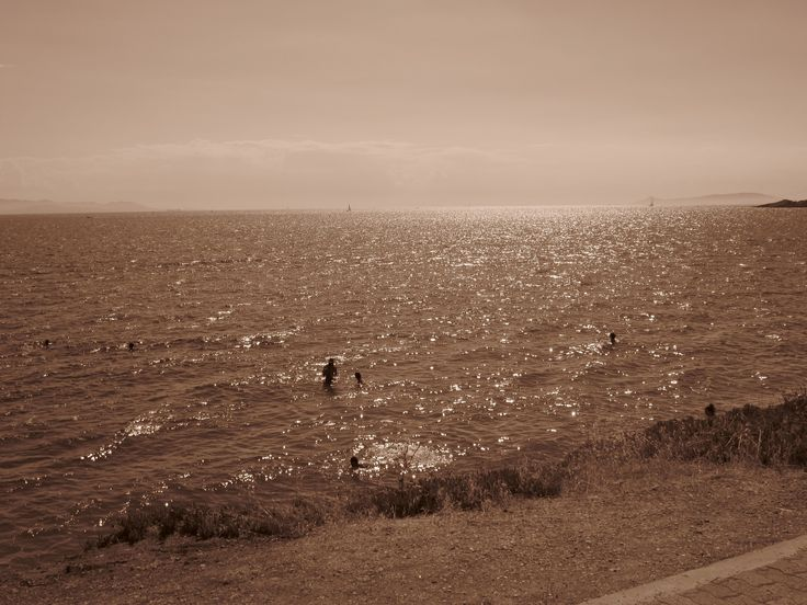 Greece - Kavouri beach  (sepia)
