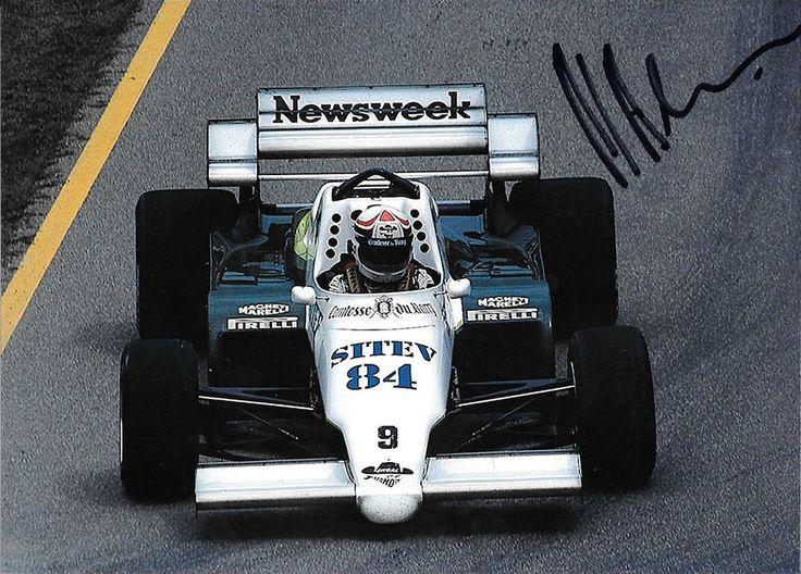 philippe alliot signed f1 ram-hart 02  1984 grand prix season from $14.4