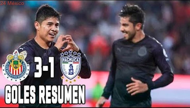 Chivas vs Pachuca 2017 3-1 GOLES y RESUMEN COMPLETO Jornada 8 Apertura 2017 Liga MX