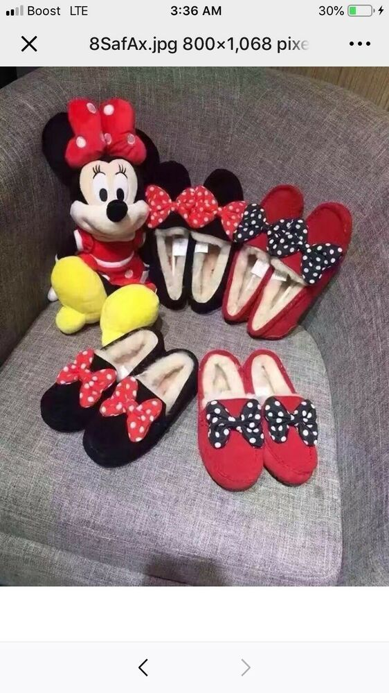 e3d8955ad5c25 eBay link) ugg slippers Minnie Mouse #fashion #clothing #shoes ...