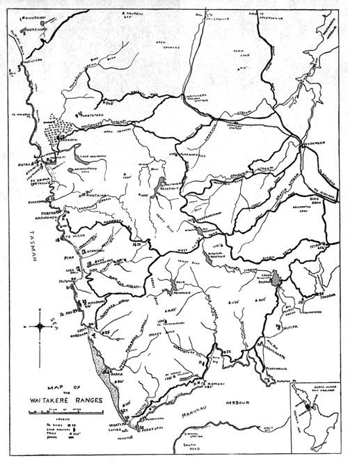 Maori In The Waitakere Ranges, By J. T. Diamond. Journal of the Polynesian Society, pages 304-314. Read online