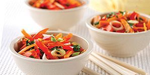 This colourful side salad is packed with fresh herbal flavours and antioxidants.
