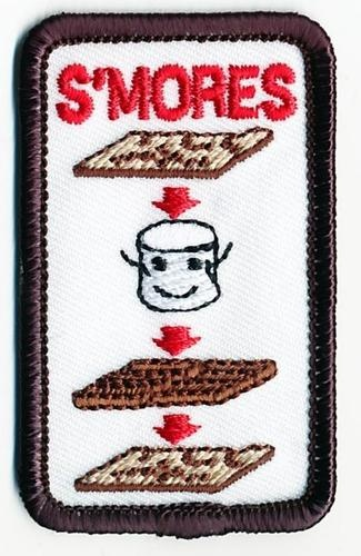 patch supplier    Girl Boy Cub HOW TO MAKE A SMORES Fun Patches Crests Badges SCOUTS GUIDE Iron On | eBay