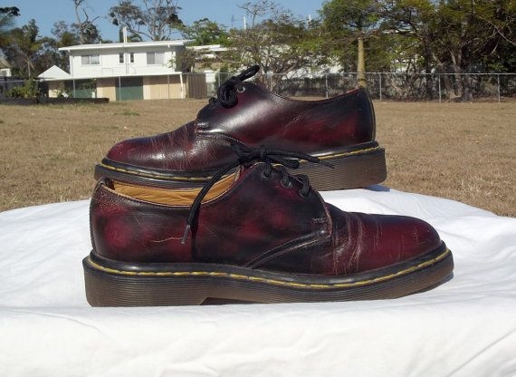 Vintage Doc Martens Ladies 3 Hole Lace Up by VintageSquirrels, $39.95