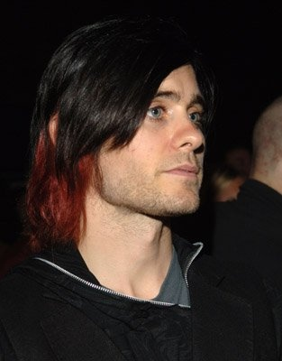 """Jared Leto's black-and-red hair phase, which leading scientists in the field are calling """"the best, really, it was pretty great."""""""
