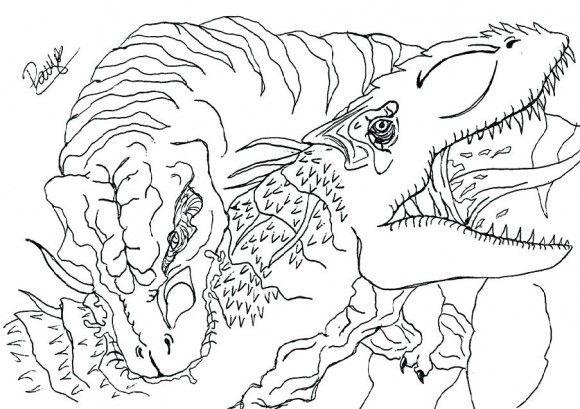 T Rex Coloring Page Coloring Pages Tyrannosaurus Rex Tyrannosaurus
