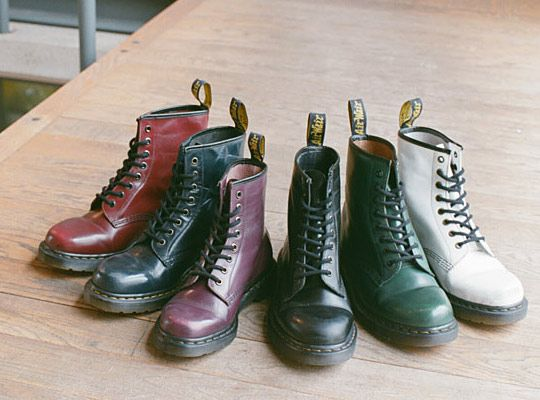 "Dr. Martens 1460 ""Worn"" Collection"