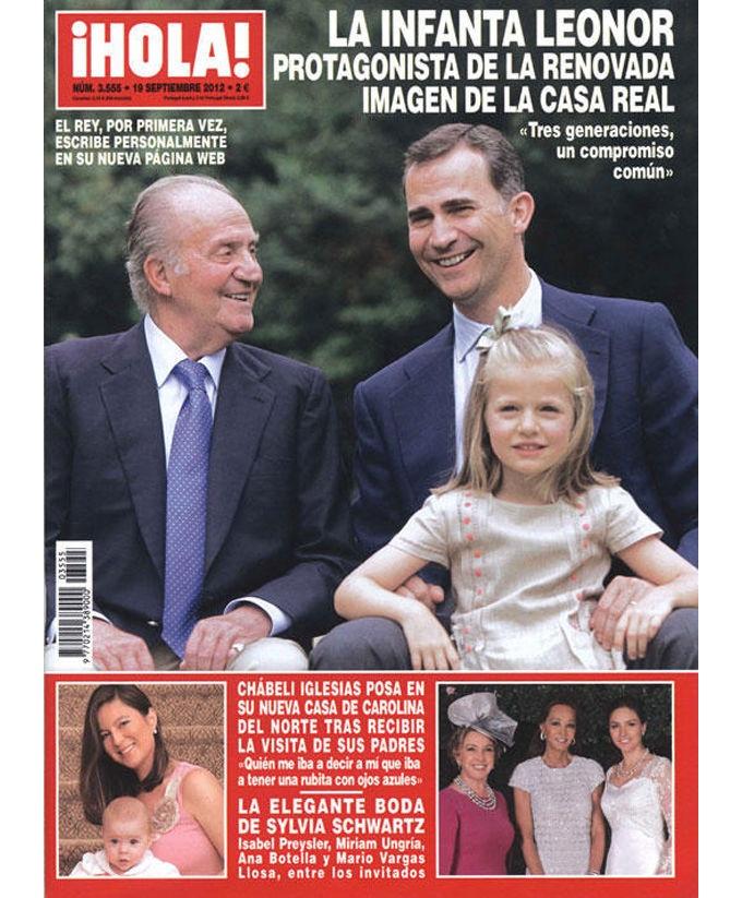 """Revistas del Corazón: Las portadas de la semana - Jueves, 13 de septiembre > """"¡Hola!"""""""