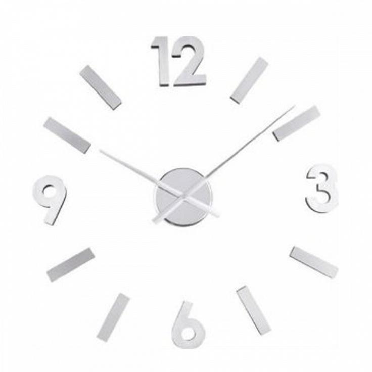 balvi orologio alluminio adesivo