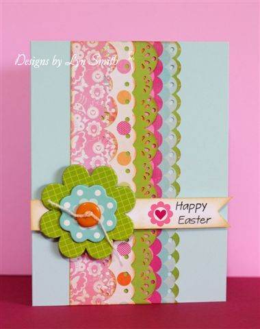 EasterEaster Card, Scrapbook Techniques