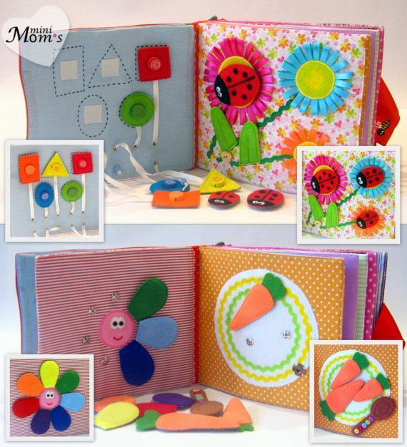 Summer activityQuiet Book for preschool kids  Best out of Waste