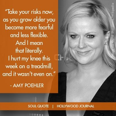 Quotes and inspiration from Celebrity   QUOTATION – Image :    As the quote says – Description  Amy Poehler | Soul Quote | Soul of the Biz | HollywoodJournal.com #hollywood #amypoehler #hollywoodjournal #soulquote #quote #comedian #actor #celebrity #inspiration  Sharing is everything...