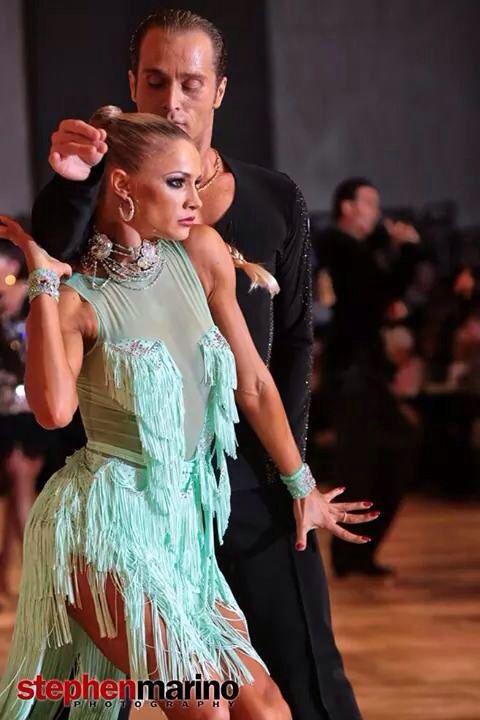 The amazing Yulia and Riccardo Embassy Ball World Latin Pro Champions 2014