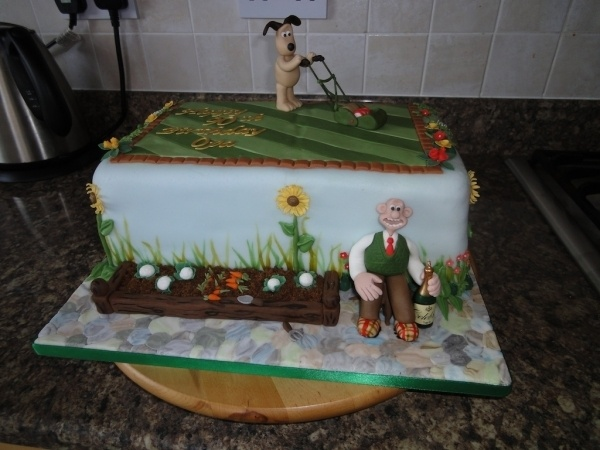 WALLACE & GROMIT CAKE!!!!!